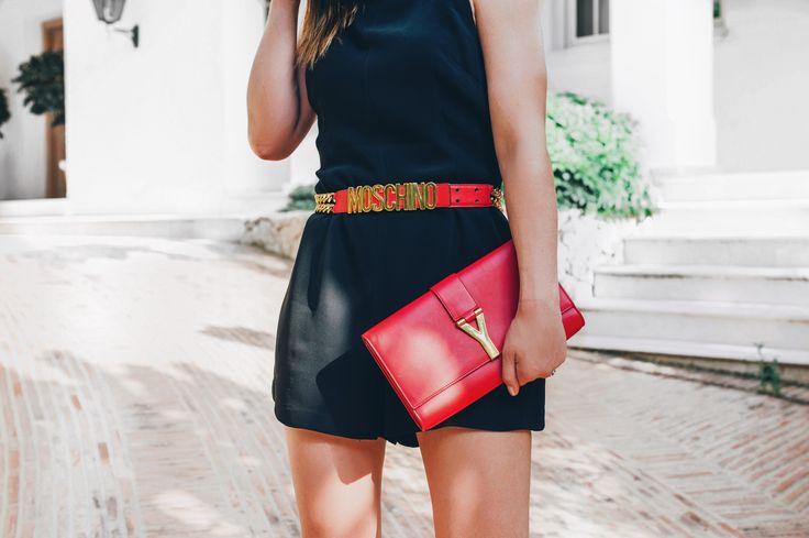 Black playsuit by Finders Keepers - Bag Vibes blog.