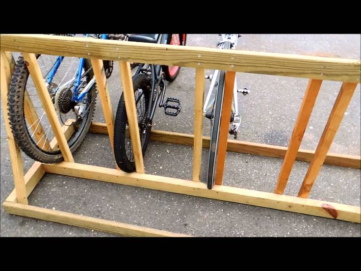 Make Your Own Bike Rack Lovequilts