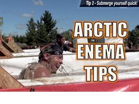 Tough Mudder Arctic Enema Tips - It's Cold!