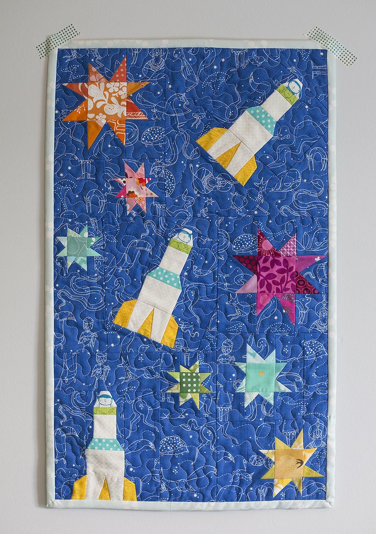 66 best images about space related on pinterest dibujo for Space quilt pattern