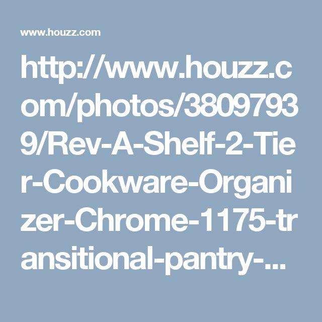 http://www.houzz.com/photos/38097939/Rev-A-Shelf-2-Tier-Cookware-Organizer-Chrome-1175-transitional-pantry-and-cabinet-organizers