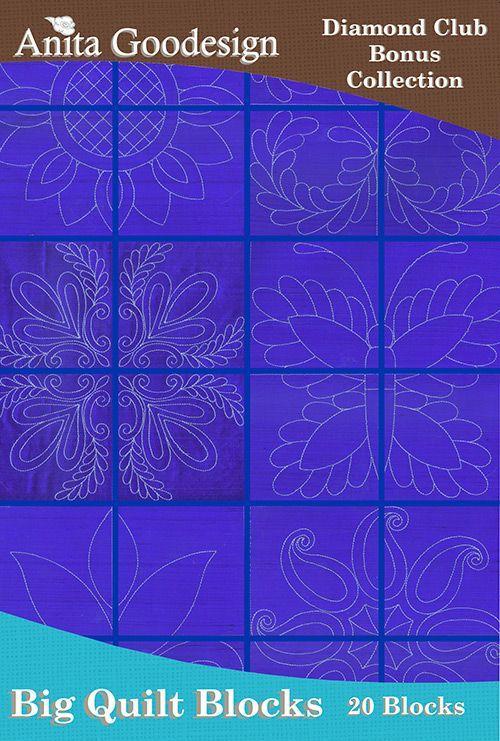 Big Quilt Blocks Anita Goodesign Quilts Quilt Blocks Machine