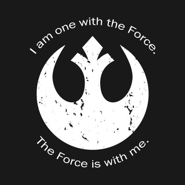 Check out this awesome 'I+am+one+with+the+Force...' design on @TeePublic!