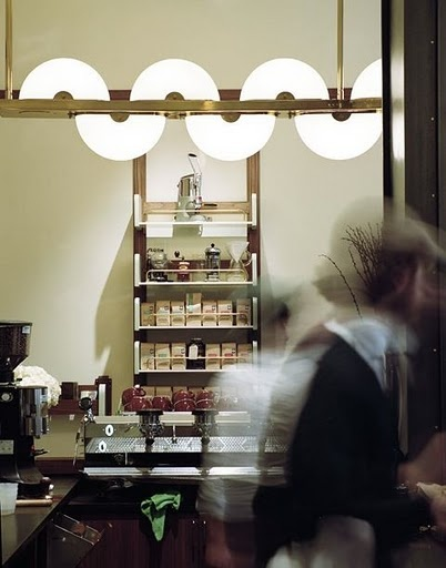 Sumptown Coffee Roasters - Ace Hotel. Interiors by Roman and Williams, NYC.