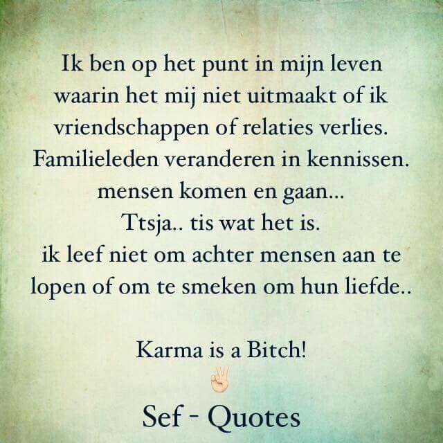 Karma is a Bitch...