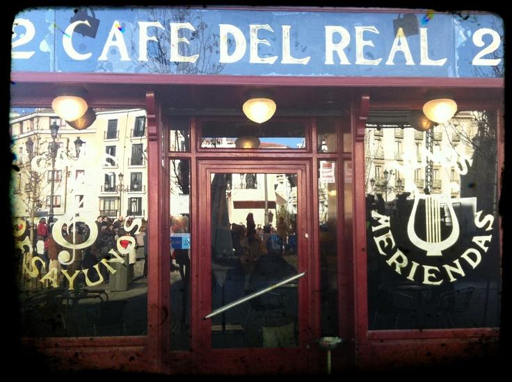 cafe del real, madrid