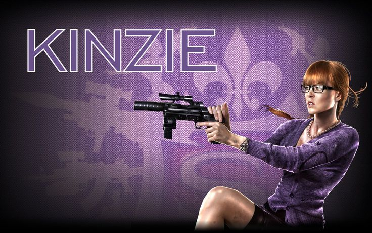 Saints Row IV: Kinzie Wallpaper by hRDLA.deviantart.com on @DeviantArt