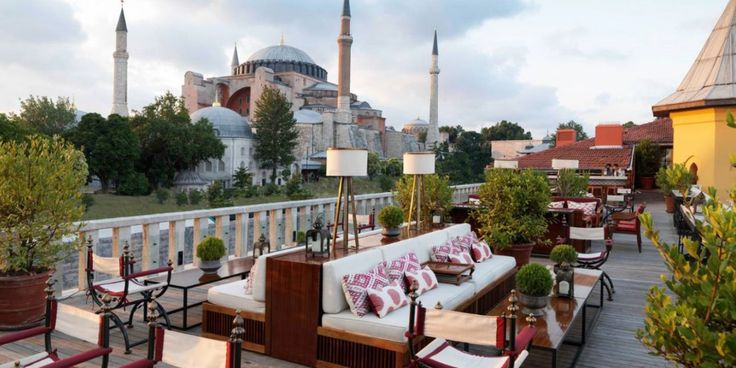 Rooftop à Istanbul
