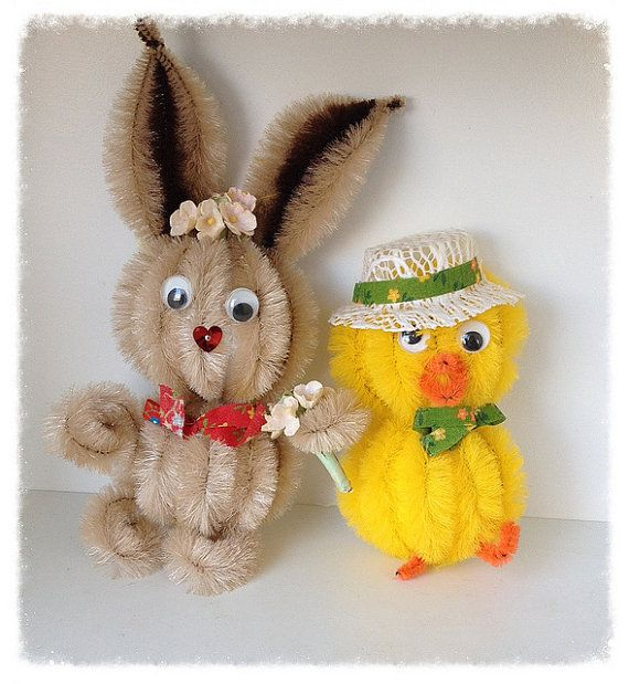 260 best pipe cleaners images on pinterest pipe cleaners for Easter crafts pipe cleaners