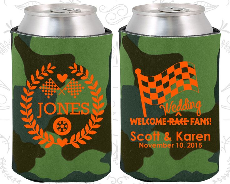 Welcome Wedding Race Fans, Racing Flags, Checkered Flag, Country Wedding, Race Car Wedding, Wedding Decor, Wedding Koozies (589)