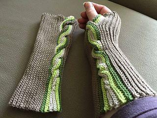 Crochet Award 2015 Winner: Best Fingerless Mitts Design