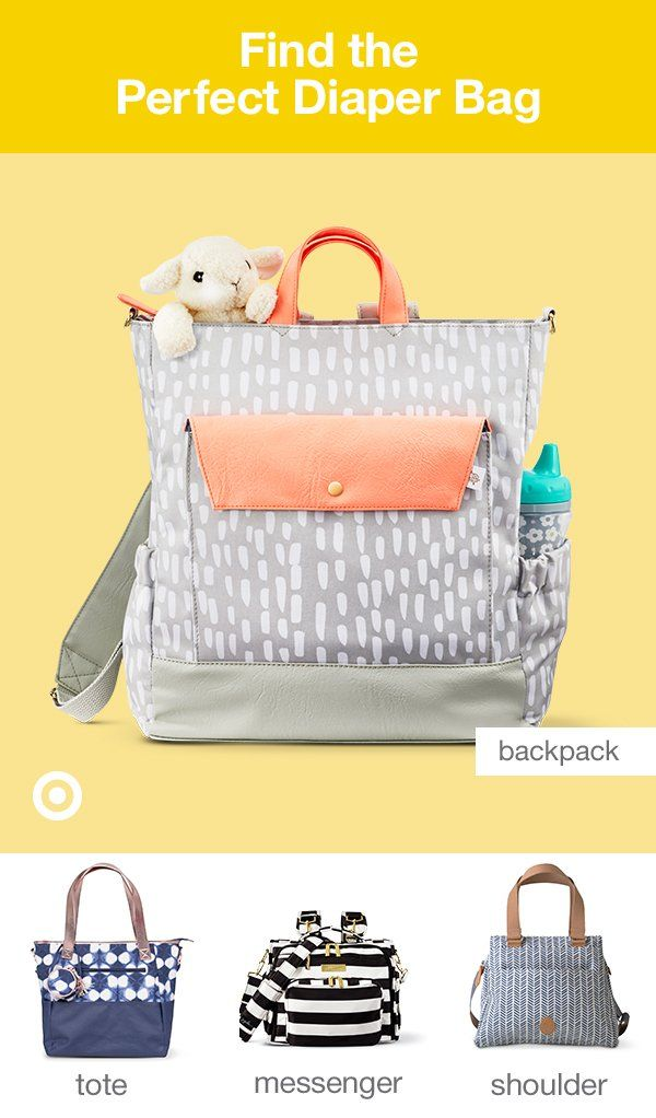 439b7b7627 Diaper bags are a must. Find your perfect backpack