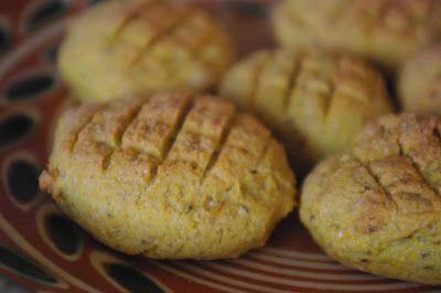 Csipetfalat: Sütőtökös pogácsa