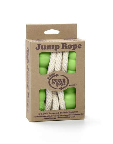 Green Toys - Jump Rope - Green & Pink - Bubbalove Australia