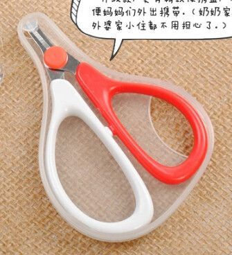 hot selling High quality New arrival Rikang baby nail scissors newborn baby safety nail clipper scissors Free Shipping