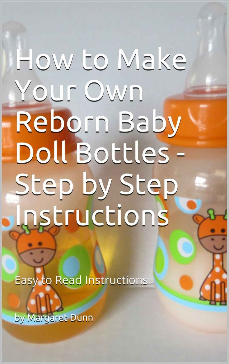 63 best reborn baby doll bottles pacifiers accessories more reborn doll bottles step by step ebook on how to make your own reborn baby fandeluxe Images