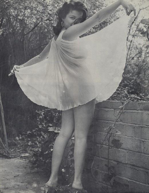 VINTAGE: Magazine, Girls, Lingerie, Pinups, Vintage, Pin Up, Joan Bradshaw, Girl Watcher, Photo