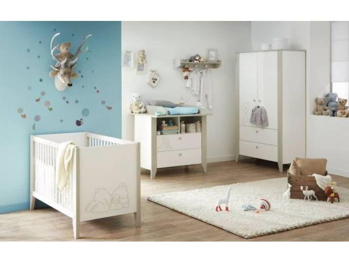 Babyzimmer Komplett Set 3 Teilig Weiss Komplettset Schlafbar