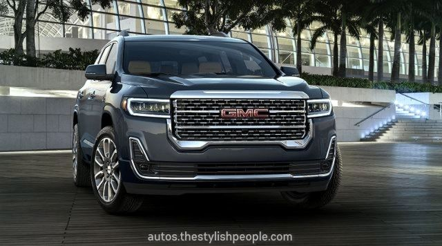 20gmc Acadia Will Get An Early Face Wash Suv And 20vehicles