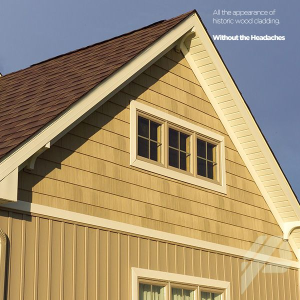 Care free homes is proud to offer mastic products choose for Vertical siding options