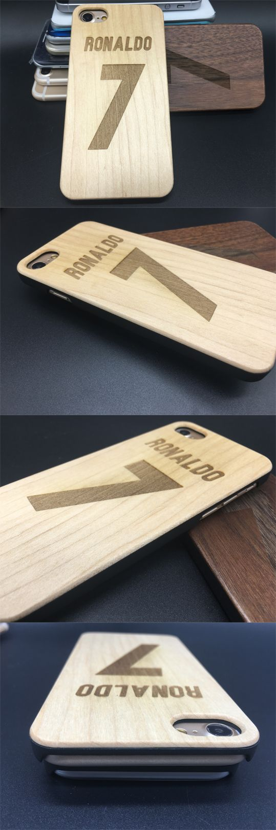 Shop page: www.jiacase.com Personalized engraving Monogram one phone cases,NFL,NHL,Soccer jersey,NBA jerseys.name and number on wood phone case for iPhone 7/7plus,6/6S/6Splus,5/5s/5se,etc #Ronaldo #7 #CR7 #real madrid #jersey #soccer #football #wooden #ca