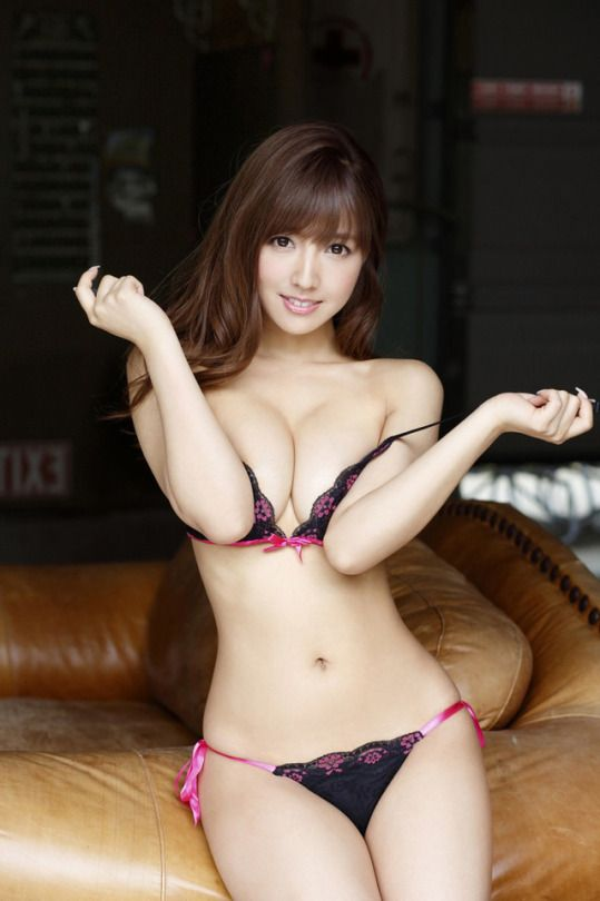 Asian models black bra sorry