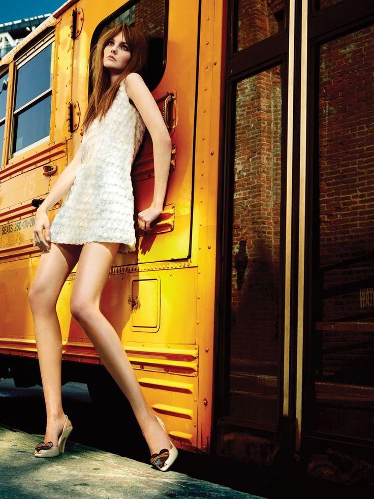 Caroline Trentini for Elle Brazil November 2010 by Fabio Bartelt #editorial #fashion