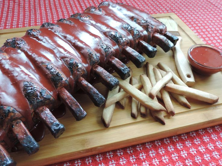 A Cake That Looks Like Ribs Carved Cake Covered In