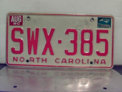 Item offered is a 1981 NC license plate in VG or better condition. Plate can be used on any 1981 vehicle for Year of manufacture purposes in North Carolina. Price includes standard shipping in the U.S. Easy payment with Paypal for same day shipping for purchases completed before 12 Noon Eastern Time. Be sure to check my other items in my webstore and more items in the marketplace powered by eCrater! This license plate is sold for collectible and display purposes only!