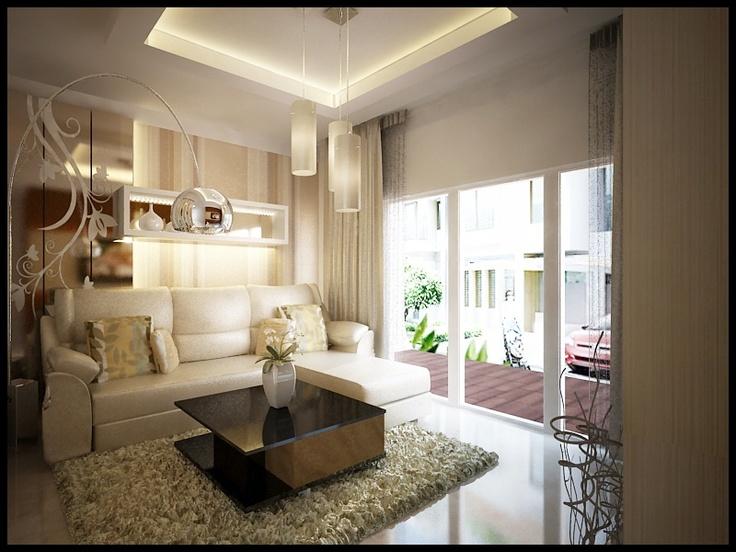 Living room at jakarta garden city Interior design Pinterest