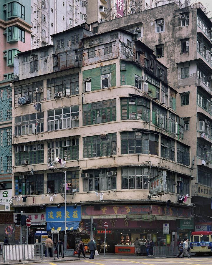 Corner Houses, Hong Kong by Michael Wolf.