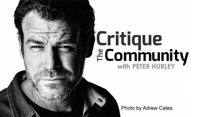 Critique the Community Episode 11a: Headshots with Peter Hurley #photography