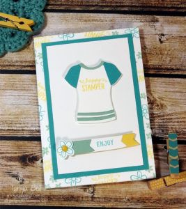 stampin-up-stamping-t-builder-t-shirt-card, Custom Tee