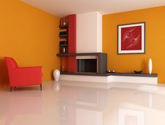 Living Room Paint Love this fireplace!!! | Look around!