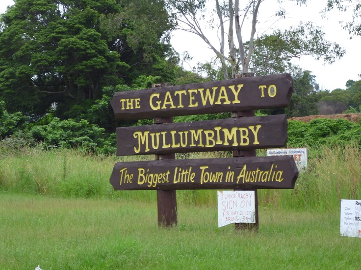 Mullumbimby, the biggest little town in Australia