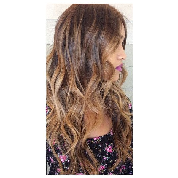 Hairstyle Trends 2015, 2016, 2017 Before/After Photos Balayage,... ❤ liked on Polyvore featuring beauty products, haircare, hair color, hair and hairstyles