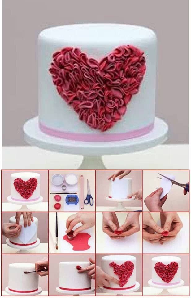 Valentine's day cake idea(Bake Cheesecake Valentines Day)