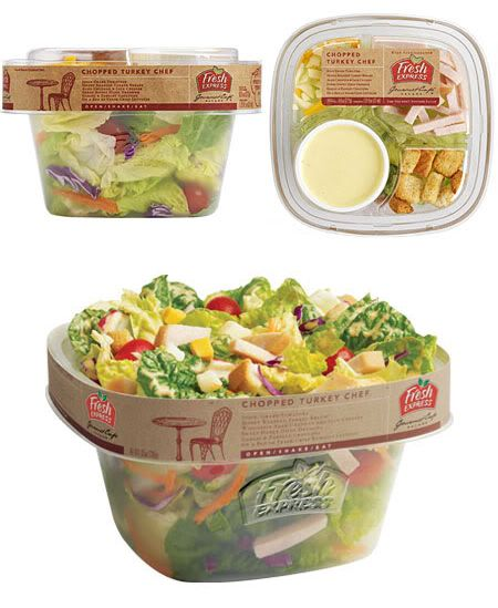 Fresh Express salad packaging | IDEO