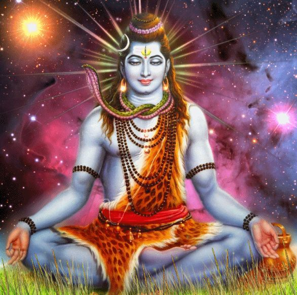 SHIVA COSMIC by VISHNU108