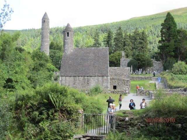 Monastic Ruins at Glendalough, Gorey, Ireland