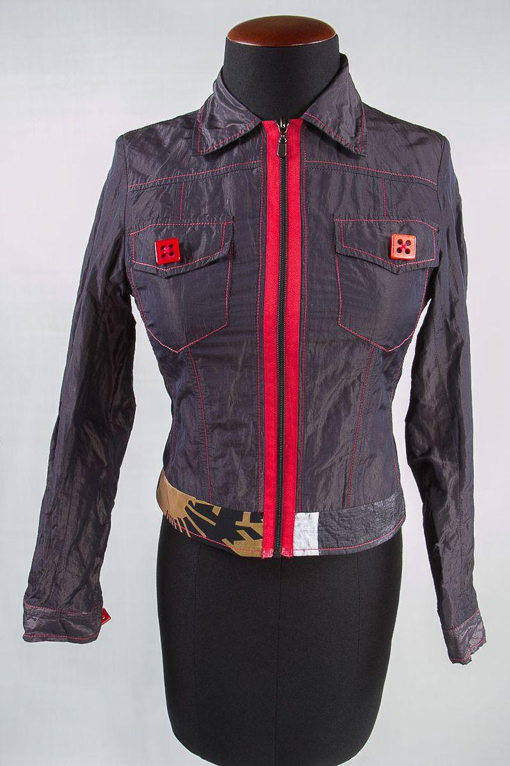 Silvia Tcherassi chaqueta morada/rojo