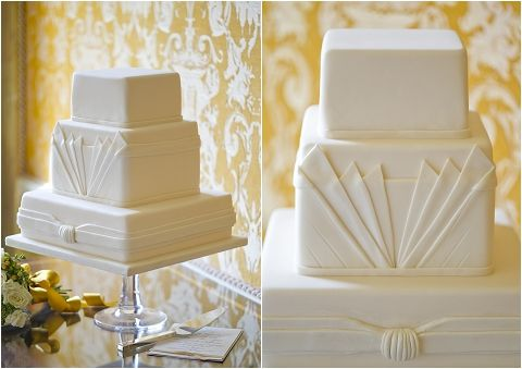 One of my favourite 1920's styled cakes - love it!    Couture-Luxury-Wedding-Cakes-