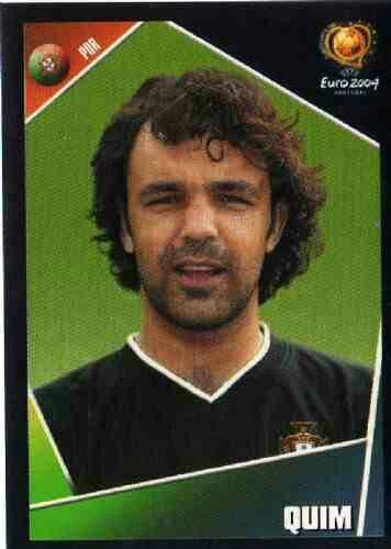 Quim of Portugal. Euro 2004 card.