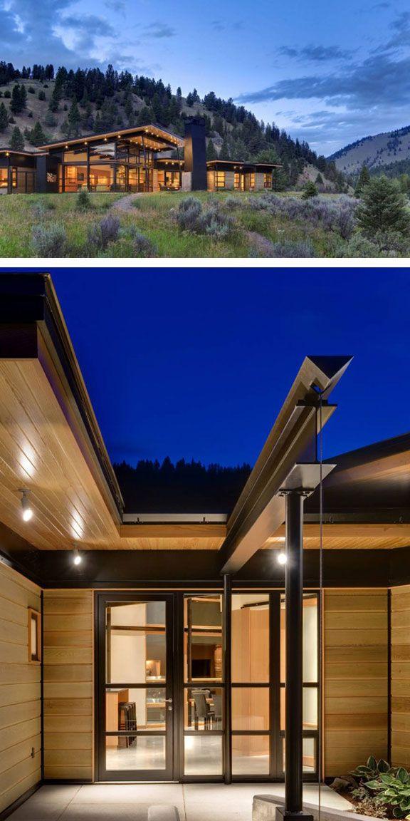 Modern Mountain Home Architecture DetailsArchitecture Interior