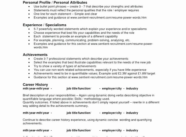 Bullet point resume format awesome resume bullet points