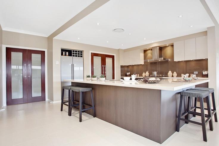 Beach house kitchen by mcdonald jones homes kitchens for Mcdonald jones kitchen designs