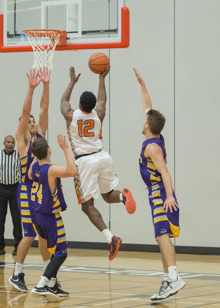 Men's Varsity Basketball.