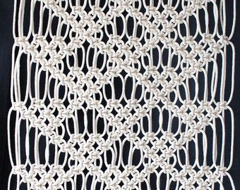 Macrame Wall Hanging Macrame Wall Art by PastPatternsBoutique