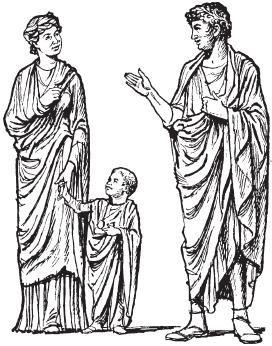Костюмы древнего рима боги