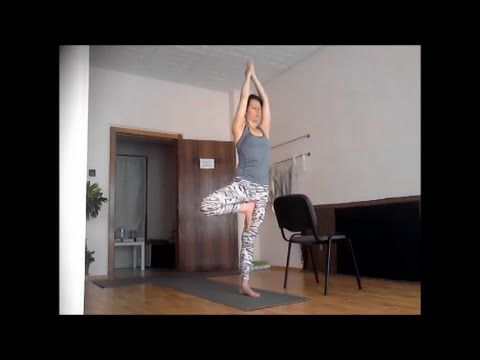 60 perces kezdő jóga- Teljes test - YouTube